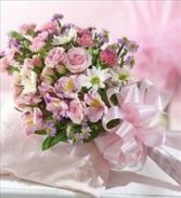 MIXED FLOWER BOUQUET Wrapped Bouquet - No Container - choose flowers at checkout in East Hampton, CT | ESPECIALLY FOR YOU