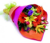 Wrapped Flowers/ Your choice of colors