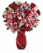 Wrapped with Passion Valentine Arrangement