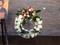 WREATH by MILLE FIORE FUNERAL