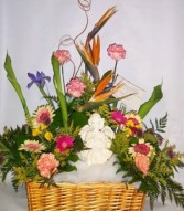 ANGEL OF LOVE Sympathy Basket