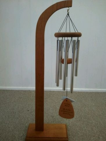 In Loving Memory Windchimes Stand Sold Separate Sympathy