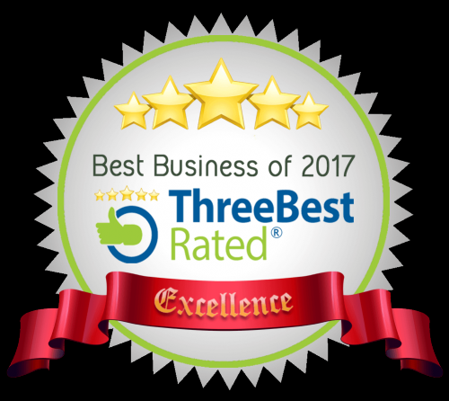 Best Business of 2017 by Three Best Rated Excellence