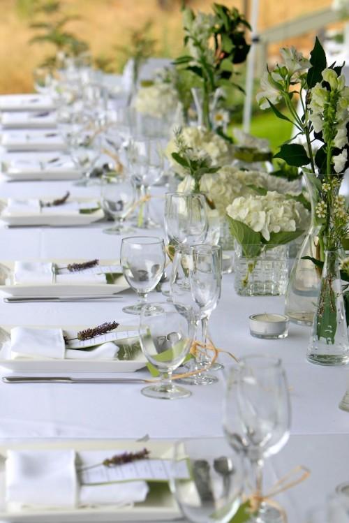 Wedding Reception Flowers - POLKA DOT DOOR - Osoyoos, BC