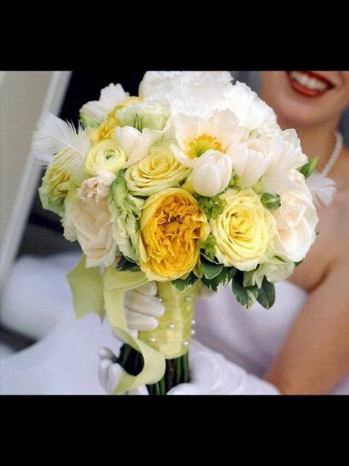 Wedding Flowers From Antique Rose