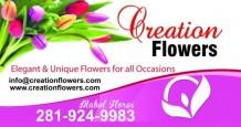 CREATION FLOWERS