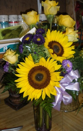 Business is blooming at A Just Because Florist Shoppe!