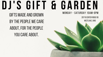 About Us - D J's Gift & Garden Boutique - Westlake, OH