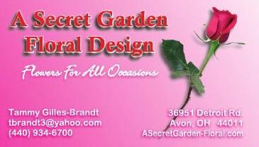 A SECRET GARDEN-FLORAL DESIGN