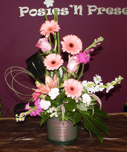 Modern Floral Arrangement by Posies 'N Presents