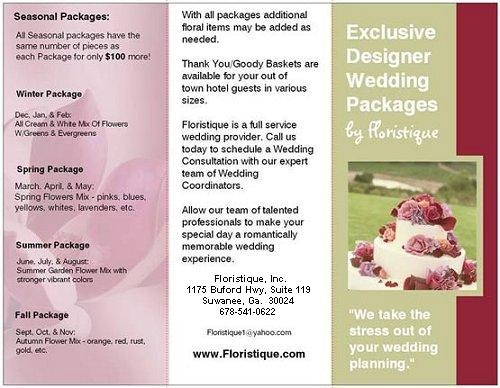 Pin Event Planner Brochure Wedding Amp Event Planning Print On