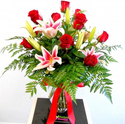 fresh roses delivered  local st petersburg, fl florist, Natural flower