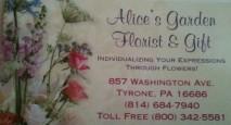 Alice's Garden Florist & Gift