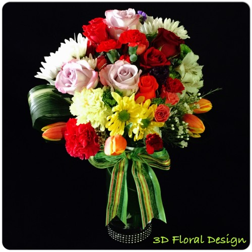 Happy Birthday Flowers North Richland Hills Tx 3d Floral Design