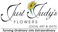 JUST JUDY'S FLOWERS, LOCAL ART & GIFTS