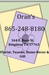 ORAN'S FLOWER SHOP