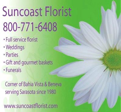 About Us - SUNCOAST FLORIST - Sarasota, FL